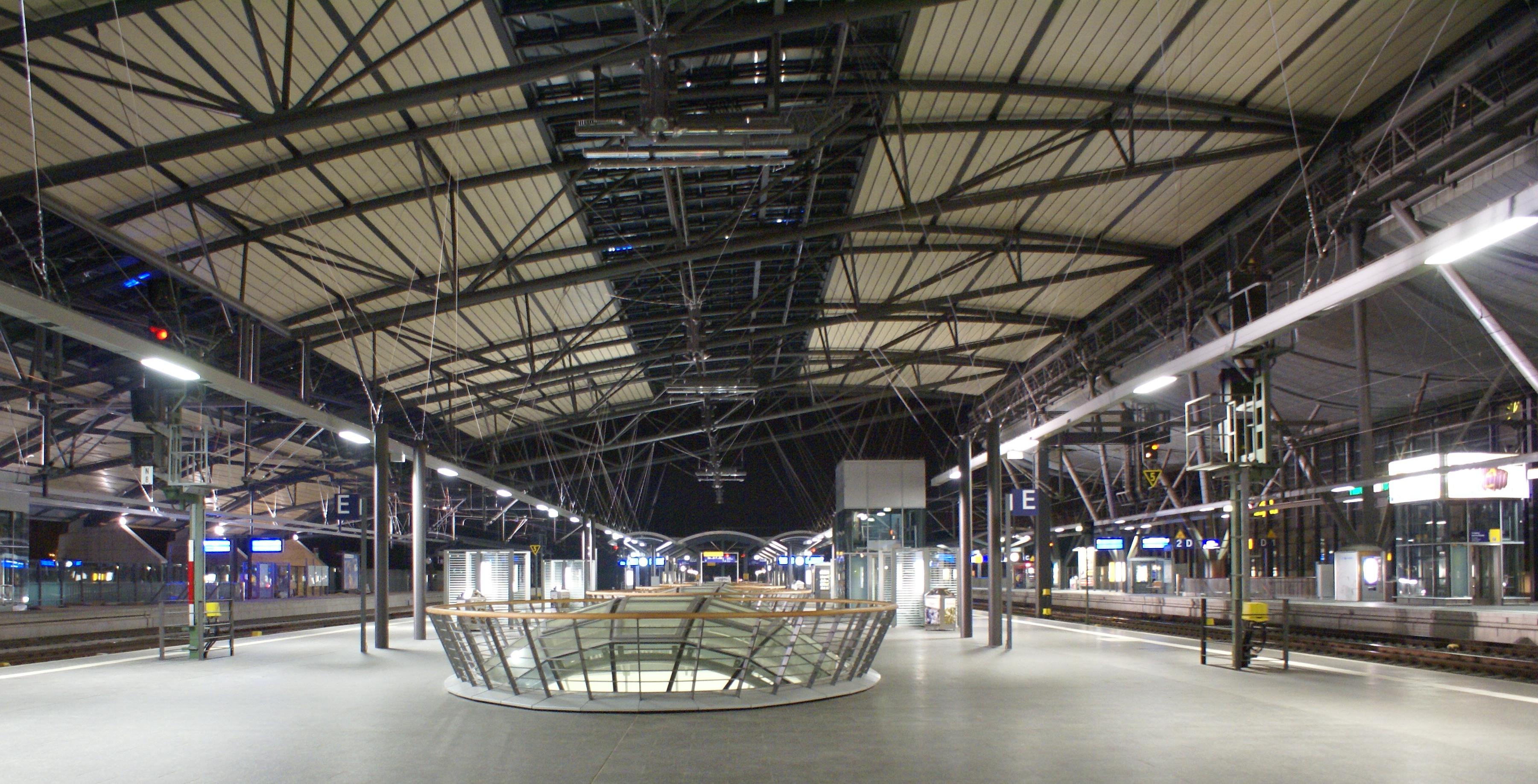 Bahnhof Erfurt Geschäfte
